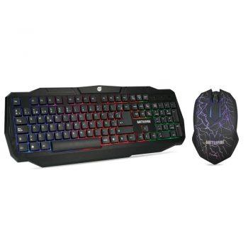 Combo Teclado e Mouse Gamer DAZZ Battlefire – 624651